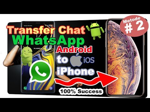 How to Transfer WhatsApp from Android to iPhone ??? { Transfer Any WhatsApp on Any Phone ) ✔.
