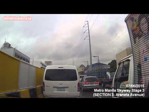 Metro Manila Skyway Stage 3 - update as of July 2015 (18A)