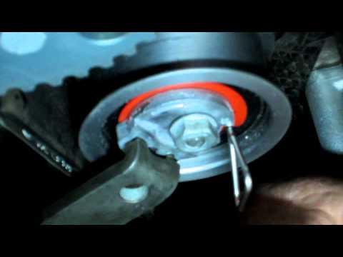 VW timing belt tensioner