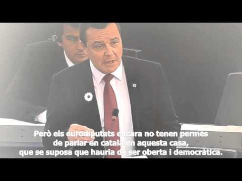 Catalan language in the European Parliament (subtitulat en català)