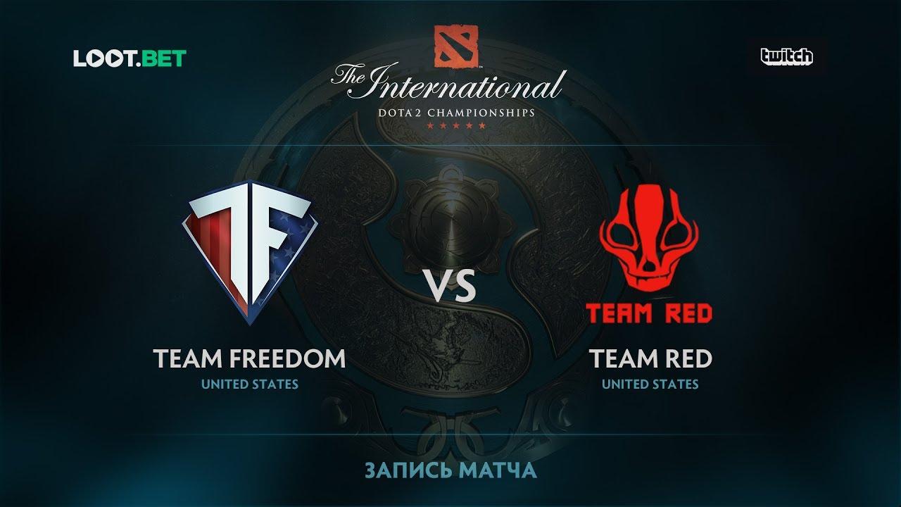 Team Freedom vs Team Red, The International 2017 NA Qualifier