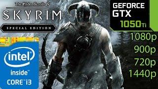 Skyrim Special Edition GTX 1050 ti - i3 6100 - 1080p - 900p - 720p - 1440p - Remastered