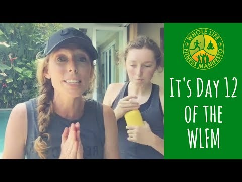 Welcome to Day 12 of The Whole Life Fitness Manifesto - free home-based, body weight workout program