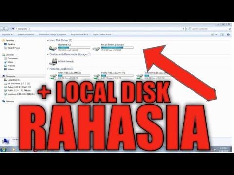 Cara MUDAH Menambah Partisi (Local Disk) di Laptop - YouTube