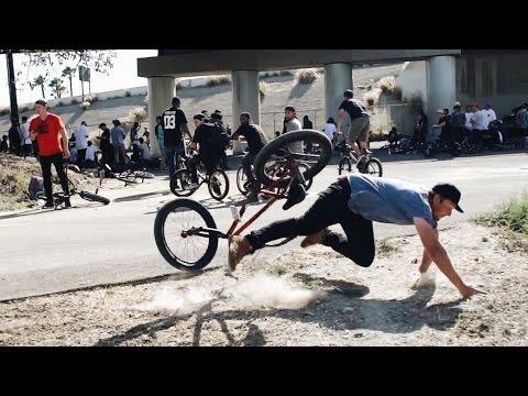 MADNESS AT A BMX JAM