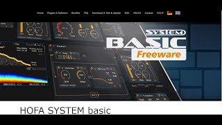 HOFA SYSTEM basic | FREE Channel Strip