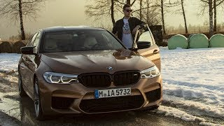 First drive in the new 2019 BMW M5 Competition | Test Drive | Review | + Autobahn