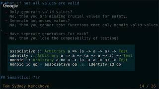 Validity Based Testing