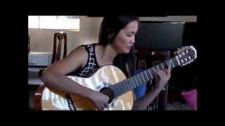 Serenade composed by Nguyen Manh Cuong Guitar by Phuong Thao