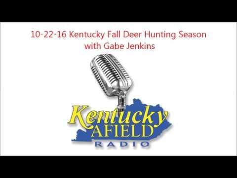 10-22-16 Kentucky's Fall Deer Season - with Gabe Jenkins