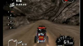 SCORE International Baja 1000 World Championship Off Road Racing Gameplay PS2