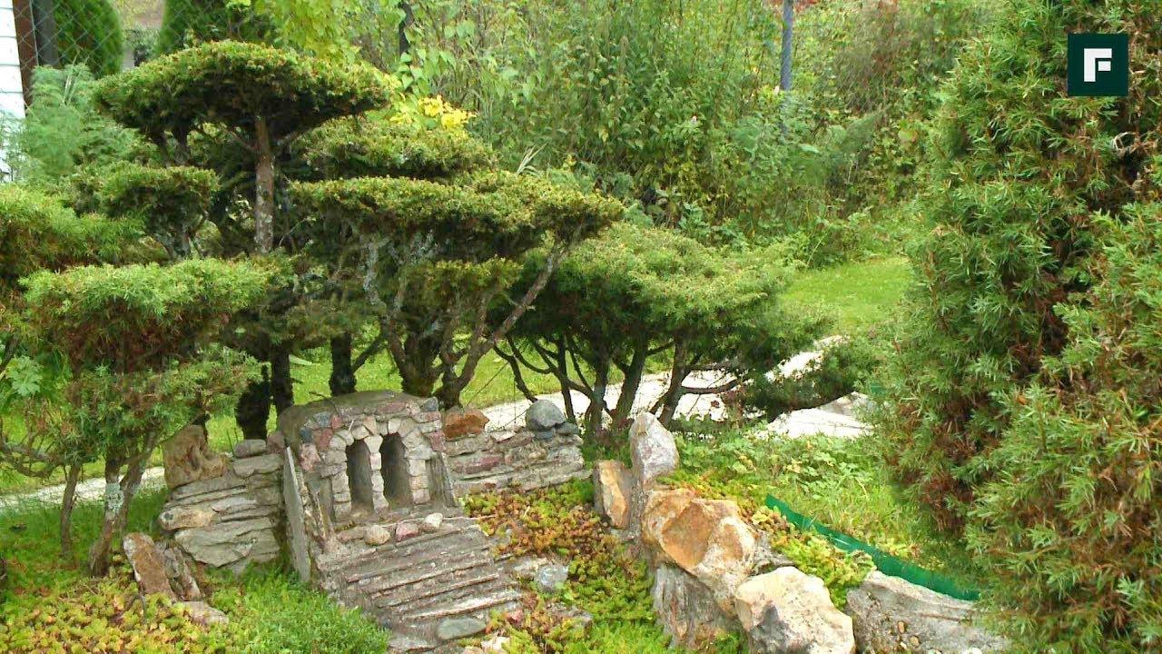 Сад в японском стиле. Сказочные острова в миниатюре // FORUMHOUSE