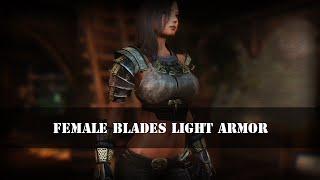 TES 5: Skyrim | Женская легкая броня Клинков