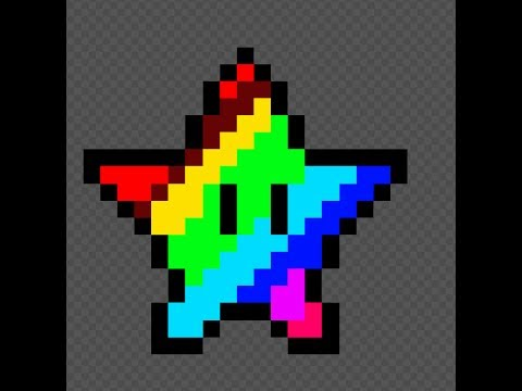 Piskel Etoile En Pixel