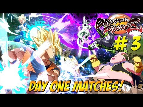 Dragonball FighterZ Beta: Day One Matches! Part 3 - YoVideogames
