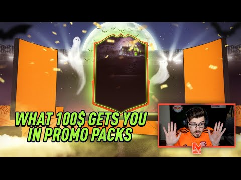 WHAT $100 GETS YOU IN FIFA 20 PROMO PACKS! ** ULTIMATE TEAM **
