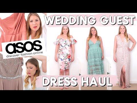 ASOS WEDDING GUEST DRESS HAUL | HELP ME CHOOSE ONE!!