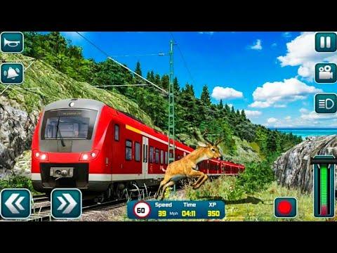 Euro Train Driver Sim 2020 3D Train Station Games - Android Gameplay FHD