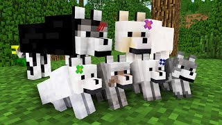 - WOLF LIFE MOVIE Cubic Minecraft Animations All Episodes BONUS