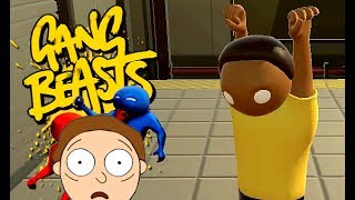 GANG BEASTS ONLINE - Morty and No Rick