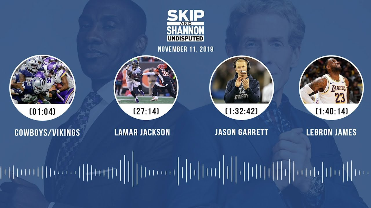 Cowboys/Vikings recap, Lamar Jackson, LeBron James Audio Podcast