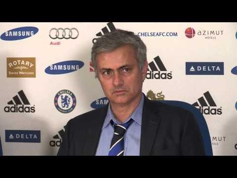 "Jose Mourinho says he is ""always annoyed"""