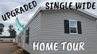 UPGRADED SINGLE WIDE MOBILE HOME! 16x80 3 bedroom 2 bath by Winston Homebuilders | Home Tour