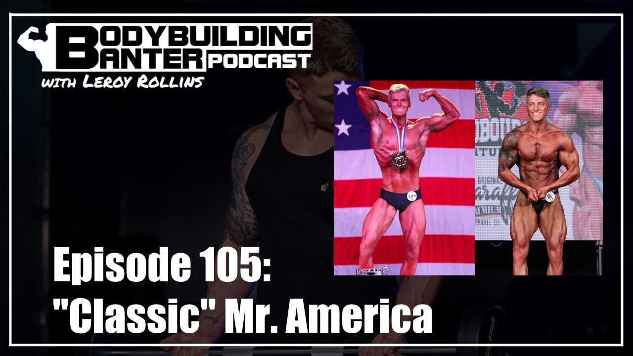 2020 Mr. Classic Physique America interviewed
