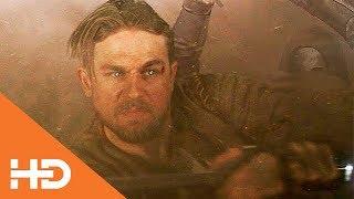 Король Артур Против Отряда Черноногих | Меч короля Артура (2017)