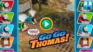 Thomas & Friends: Go Go Thomas! - Versus Mode | All Engine Race