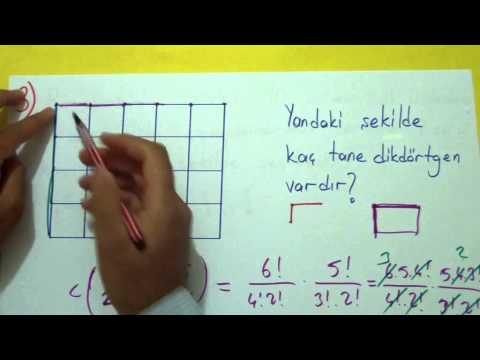 Kombinasyon Soru Çözümü Şenol Hoca Matematik