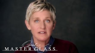 The Heartbreaking Loss That Changed Ellen DeGeneres' Life | Oprah's Master Class | OWN thumbnail
