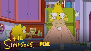 Grampa Gets A Hearing Aid & Hears What Others Are Saying | Season 29 Ep. 5 | THE SIMPSONS