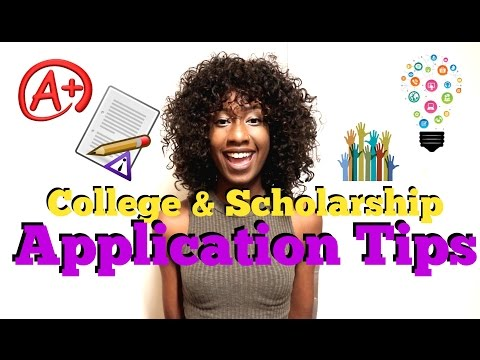 College & Scholarship Application Tips   Personal Statement, Leadership, Etc.
