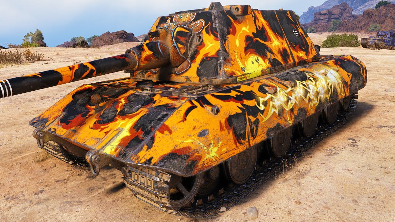 Download E 100 - BIG BOY #17 - World of Tanks
