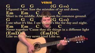 You and I (One Direction) Guitar Strum Cover Lesson with Chords/Lyrics
