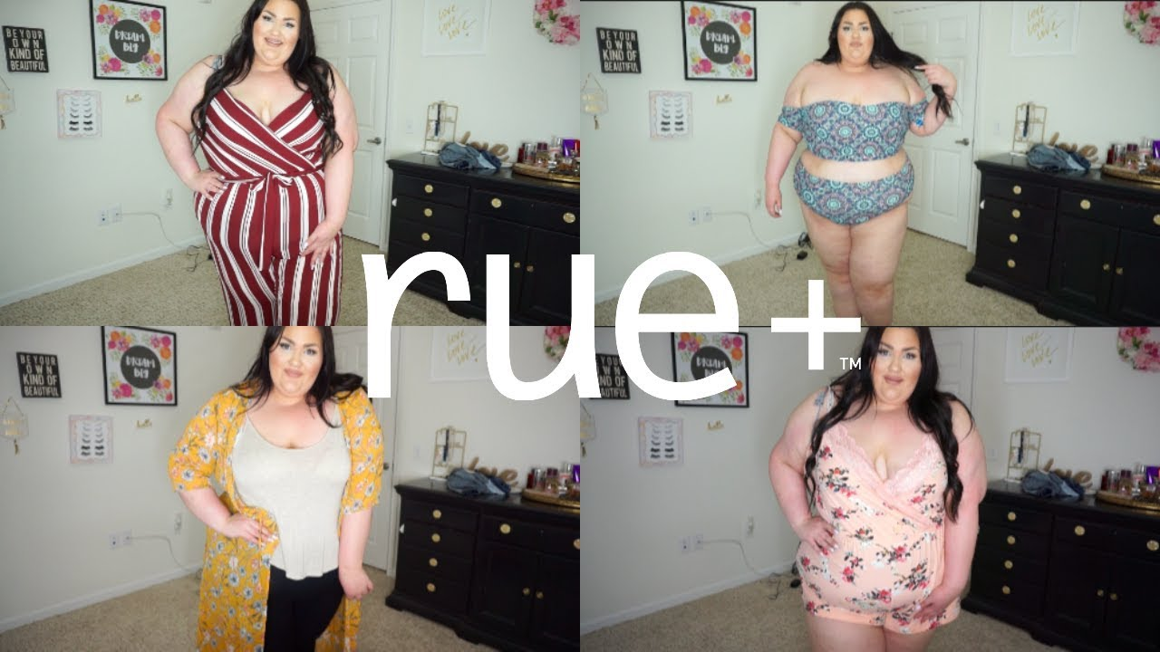 f8e7e83af6bc Plus Size Spring 2018 Try On Haul ft Rue21+!!💕 - YouTube