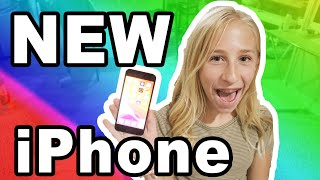 DAISY GETS HER FIRST IPHONE BRAND NEW!!