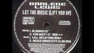"Darlene Lewis - Let The Music (Lift You Up) (M. Banks 12"")"