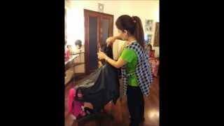 Free Hair Cut At Amber Khan Salon