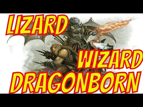 D&D Character Builds Gets Creepy with the Lizard Wizard