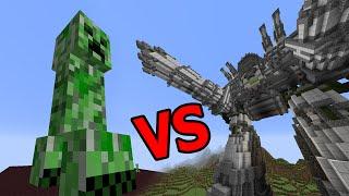 - CREEPER GIANT VS HUGE ROBOT EPIC BATTLE