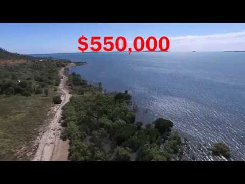 Waterfront land in the Whitsundays - 10 acres with 100m beachfront