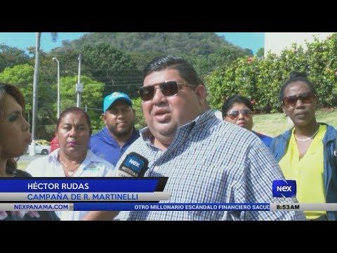 Declaraciones de Héctor Rudas sobre la impugnación a candidatura de Ricardo Martinelli