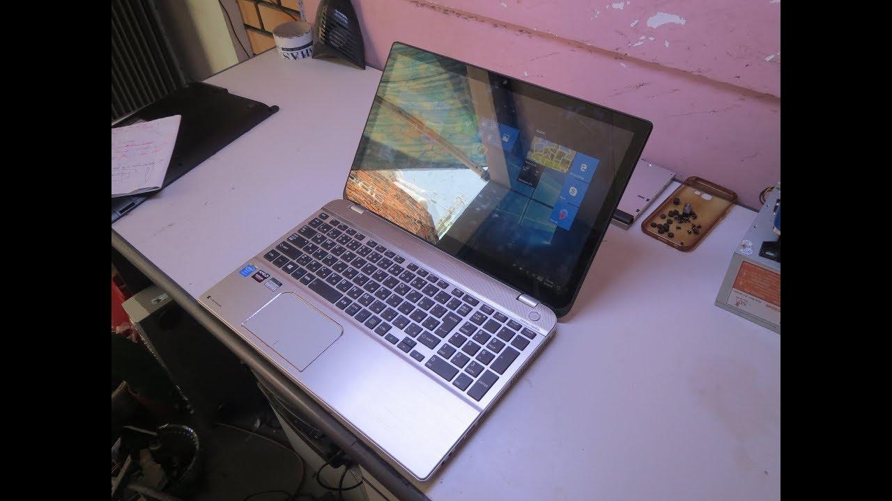 Disassembling & Replacing Keyboard on Toshiba Laptop P50 Dynabook