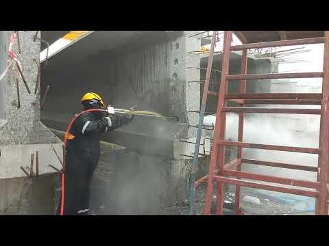 Hydro blasting - Concrete demolition