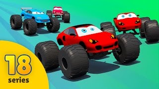 Good vs Evil | Evil Monster Trucks vs Good Monster Trucks | Racing Cars Videos | EPISODE 18