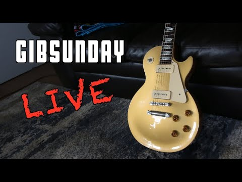 Gibsunday Live Live @ 12pm Eastern