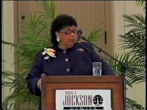 Linda Brown on Brown v. Board April 29. 2004