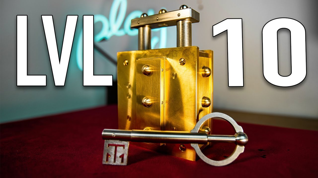 Solving THE HARDEST Lock Puzzle in HISTORY!! – LEVEL 10